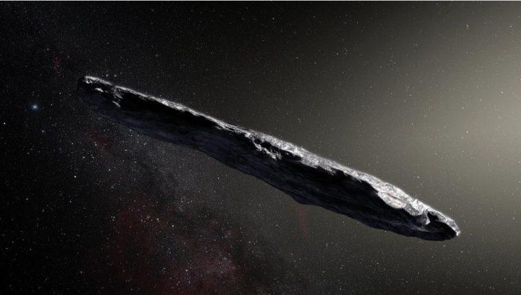 El Oumuamua fue el asteroide más extraño que se acercó a la Tierra en octubre del 2017. (Imagen artística: Nasa)