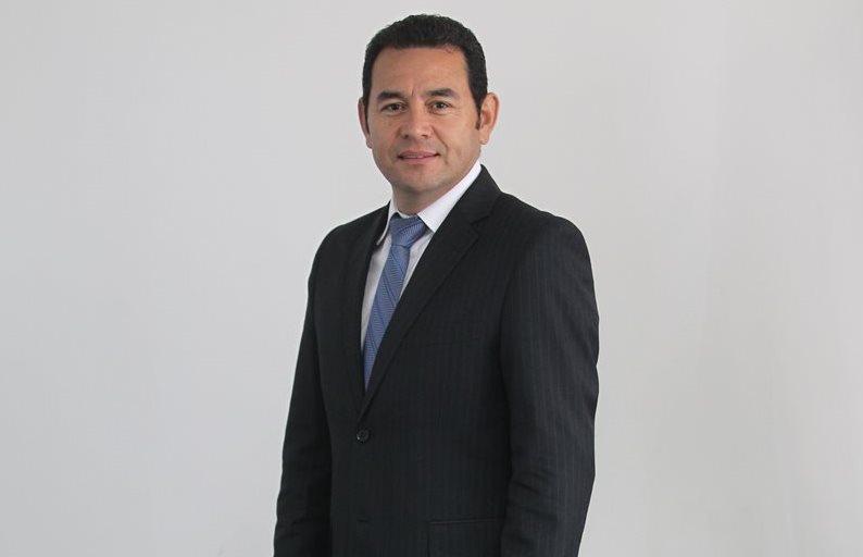 Guatemala estrena hoy presidente: Jimmy Morales, quien ofrecerá el cambio en su discurso.(Foto Prensa Libre: Esbin García)