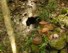 En el sito El Tintal, Petén, se han registrado 2 mil túneles de saqueo. (Foto Prensa Libre: Cortesía)