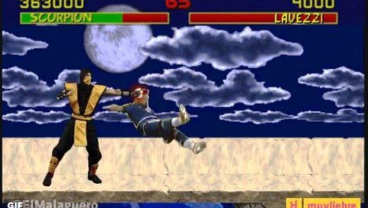 Lavezzi fue convertido en personaje del videojuego Mortal Kombat para este meme. (Foto Prensa Libre: Internet)
