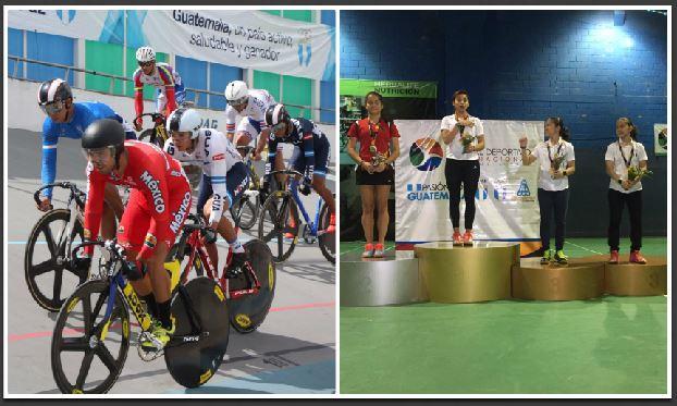 Wálter Escobar en Ciclismo y Nikté Sotomayor en Bádminton sumaron medallas para Guatemala en el Festival Deportivo Internacional. (Foto Prensa Libre: FedeCiclismo y COG)