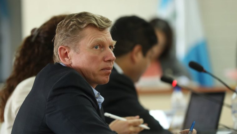 Igor Bitkov, ciudadano ruso, en la Torre de Tribunales. (Foto Prensa Libre: Esbin García)