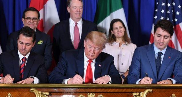 Los presidentes de México, Estados Unidos y Canadá firmaron el acuerdo el pasado viernes en Buenos Aires. (GETTY IMAGES)