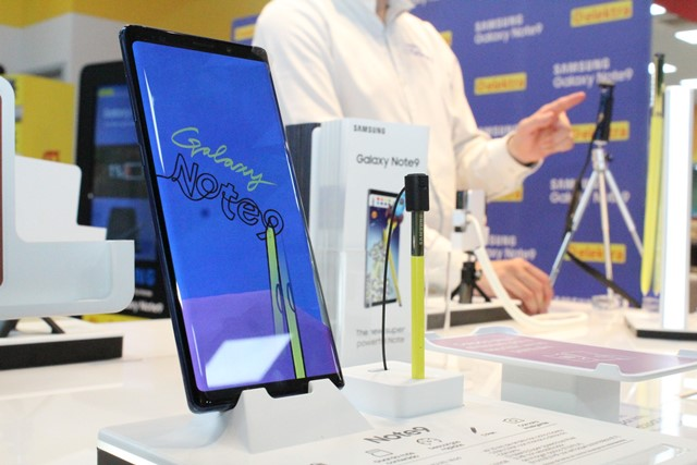 Galaxy Note9 llegó a Elektra