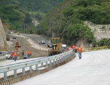 El Plan de Desarrollo Vial (PDV) para los siguientes 15 años cuantificó Q95 mil millones en Guatemala el cual fue presentado por diversas autoridades. (Foto Prensa Libre: Hemeroteca)