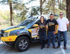 Ejecutivos de la marca Renault y Grupo Cofiño Stahl.