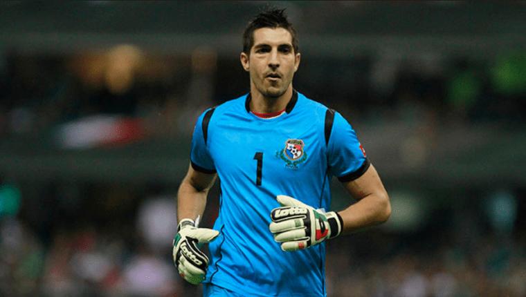 El portero Jaime Penedo no podrá estar con su selección en la clasificatoria mundialista. (Foto Prensa Libre: Hemeroteca PL)