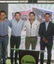 Presentan la segunda edición de la Copa Cemix. (Foto Prensa Libre: Norvin Mendoza)