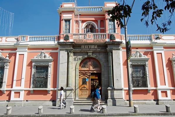 El Registro de Ciudadanos definirá la inscripción de los cinco binomios presidenciales que hasta ahora han solicitado su incripción. (Foto Prensa Libre: Hemeroteca PL)
