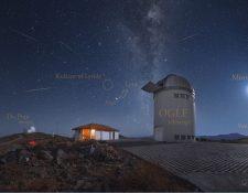Las líridas iluminarán el cielo el próximo 21 y 22 de abril (Foto Prensa Libre: apod.nasa.gov|Yuri Beletsky, Carnegie Las Campanas Observatory, TWAN)