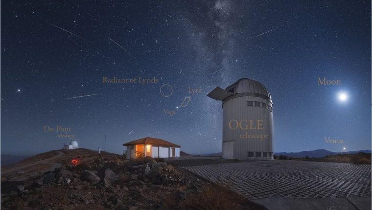 Disfrute la espectacular lluvia de estrellas líridas – Prensa Libre