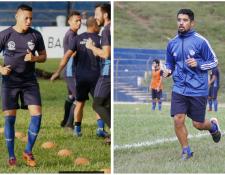 Gerardo Arias y Odir Flores no podrán estar en el partido de ida contra Malacateco. (Foto Prensa Libre: Eduardo Sam Chun)