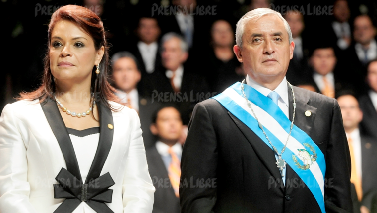 Los lujos de Roxana Baldetti y Otto Pérez Molina se pagaron con dinero ilícito. (Foto Prensa Libre: Hemeroteca PL)