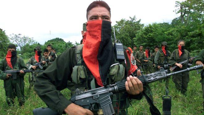 El ELN se formó en 1964, el mismo año que las FARC. CARLOS VILLALON/ GETTY