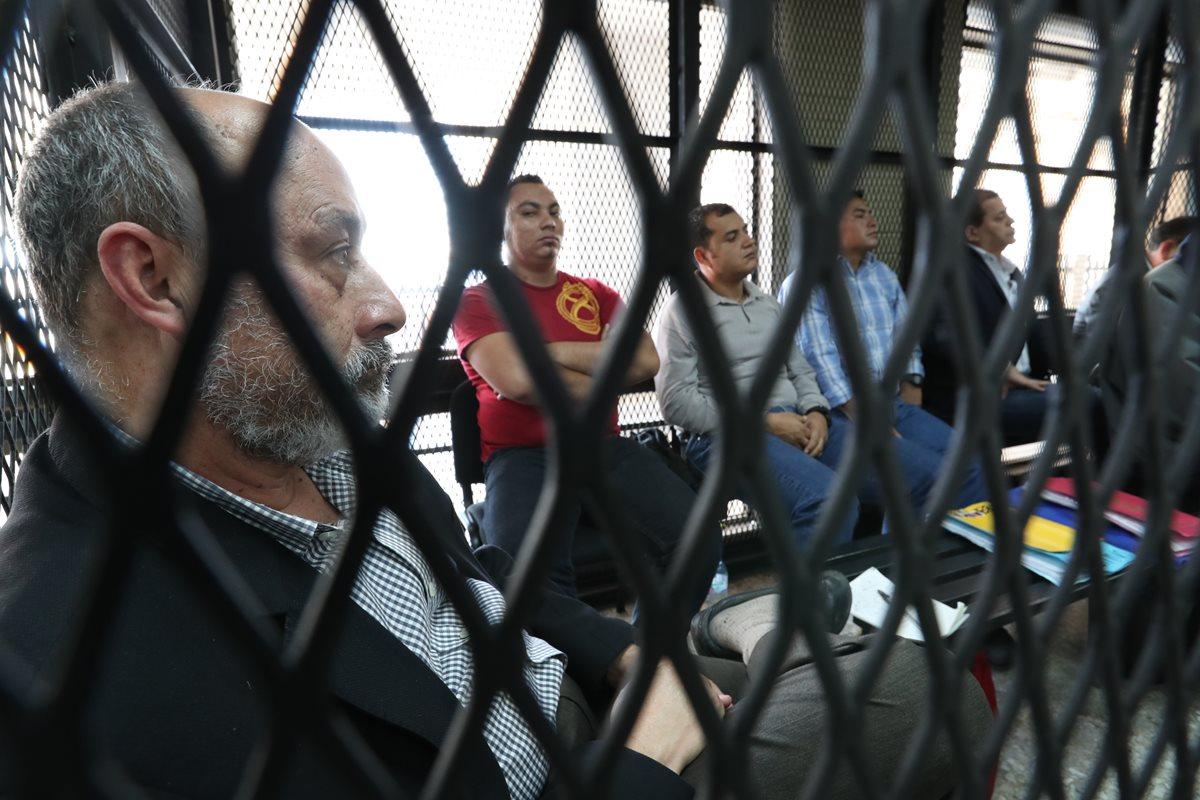 Audiencia de primera declaración de las personas acusadas de varios delitos de corrupción en el caso Caja de Pandora. (Foto Prensa Libre: Hemeroteca)
