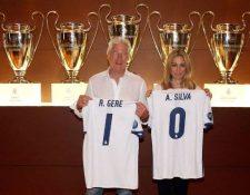 Richard Gere visitó este martes las instalaciones del Santiago Bernabéu. (Foto Prensa Libre: Real Madrid)