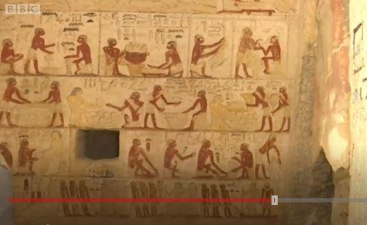 Así es la asombrosa tumba de cuatro mil 400 años que hallaron intacta en Egipto