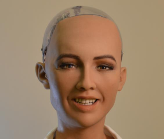 Robot Sophia estará en Guatemala