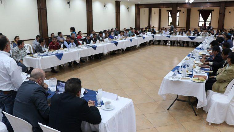 Gobernador de San Marcos anuncia que renunciará si no avanza la ejecución de proyectos. (Foto Prensa Libre: Whitmer Barrera)