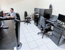 La Unidad de Medios del Tribunal Supremo Electoral aún no cuenta con equipo ni recurso humano suficiente para operar. (Foto Prensa Libre: Juan Diego González)