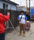 """El actor de origen guatemalteco Juliocésar Chávez, participará en el filme """"The war with grandpa"""". (Foto Prensa Libre: Giovanni Bautista)"""