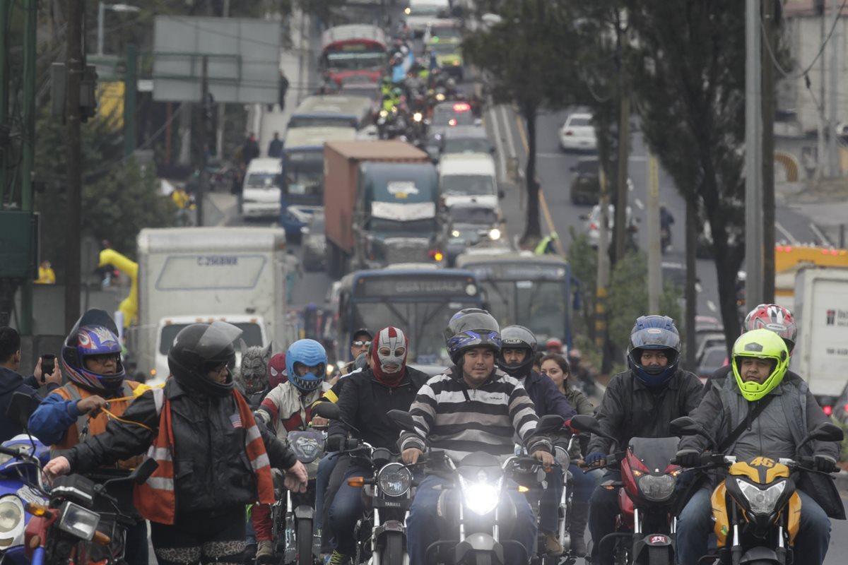 Venta de motocicletas nuevas se triplicó en diez años en Guatemala