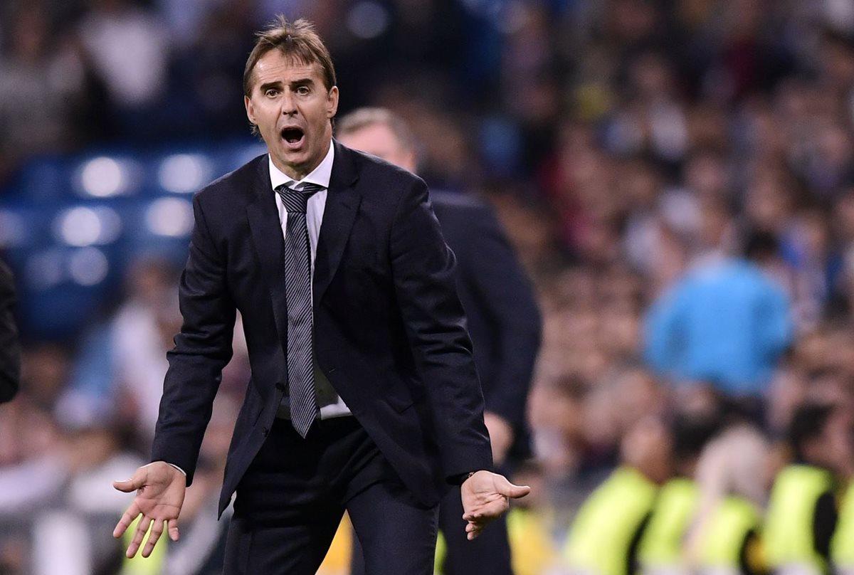 El técnico el Madrid tiene la presión de ganar el próximo domingo contra el Barsa. (Foto Prensa Libre: AFP).