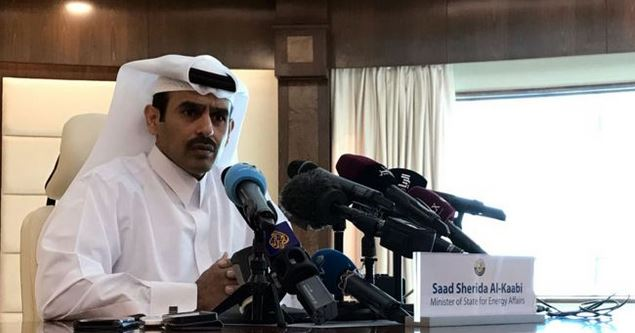 """""""No tenemos mucho potencia (en petróleo), somos realistas"""", dijo el ministro de Energía de Qatar, Saad al-Kaabi, al anunciar la salida del país de la OPEP. (GETTY IMAGES)"""