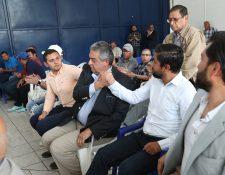 La gestión de Jorge Mario Véliz en la Fedefut estuvo marcada por la contratación de asesores, exasambleístas y exseleccionados de futsal (Foto Prensa Libre: Hemeroteca PL)