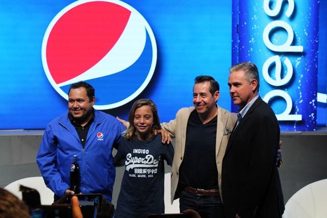 Pepsi trajo al intérprete de Luis Miguel