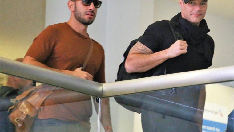 La familia de Ricky Martin tiene una nueva integrante. (Foto Prensa Libre: Splash News/The Grosby Group)