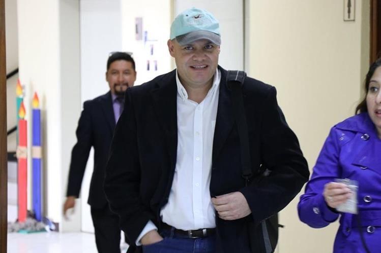 Jorge Palomo, colaborador eficaz, llega al Juzgado de Mayor Riesgo de Quetzaltenango.