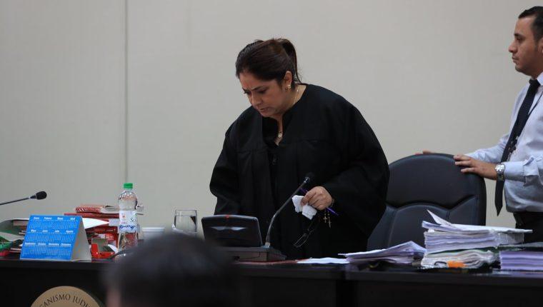 La jueza Claudette Domínguez firmó una resolución donde ordena que los sindicados del caso Infiernito tengan acceso a todas las diligencias de investigación. (Foto Prensa Libre: Hemeroteca)