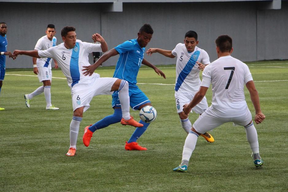 La Selección Nacional Sub 20 no pudo contra Honduras. Ahora se medirá frente a Panamá, el domingo. (Foto Prensa Libre: Fedefut)