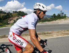 El campeón de la Vuelta a Costa Rica, Juan Carlos Rojas se encuentra suspendido por haber salido positivo en un control antidopaje. (Foto Prensa Libre: AFP)