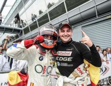 Andrés 'Lush' Raravia y Fran Rueda ganaron el Gran Premio de Monza del Internacional GT Open. (Foto Prensa Libre: Cortesía Speed Adiction)