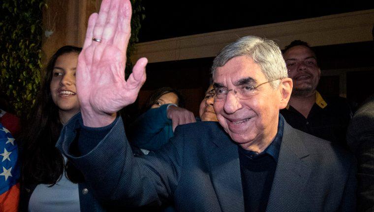 Óscar Arias, expresidente de Costa Rica. (Foto Prensa Libre: Hemeroteca PL)