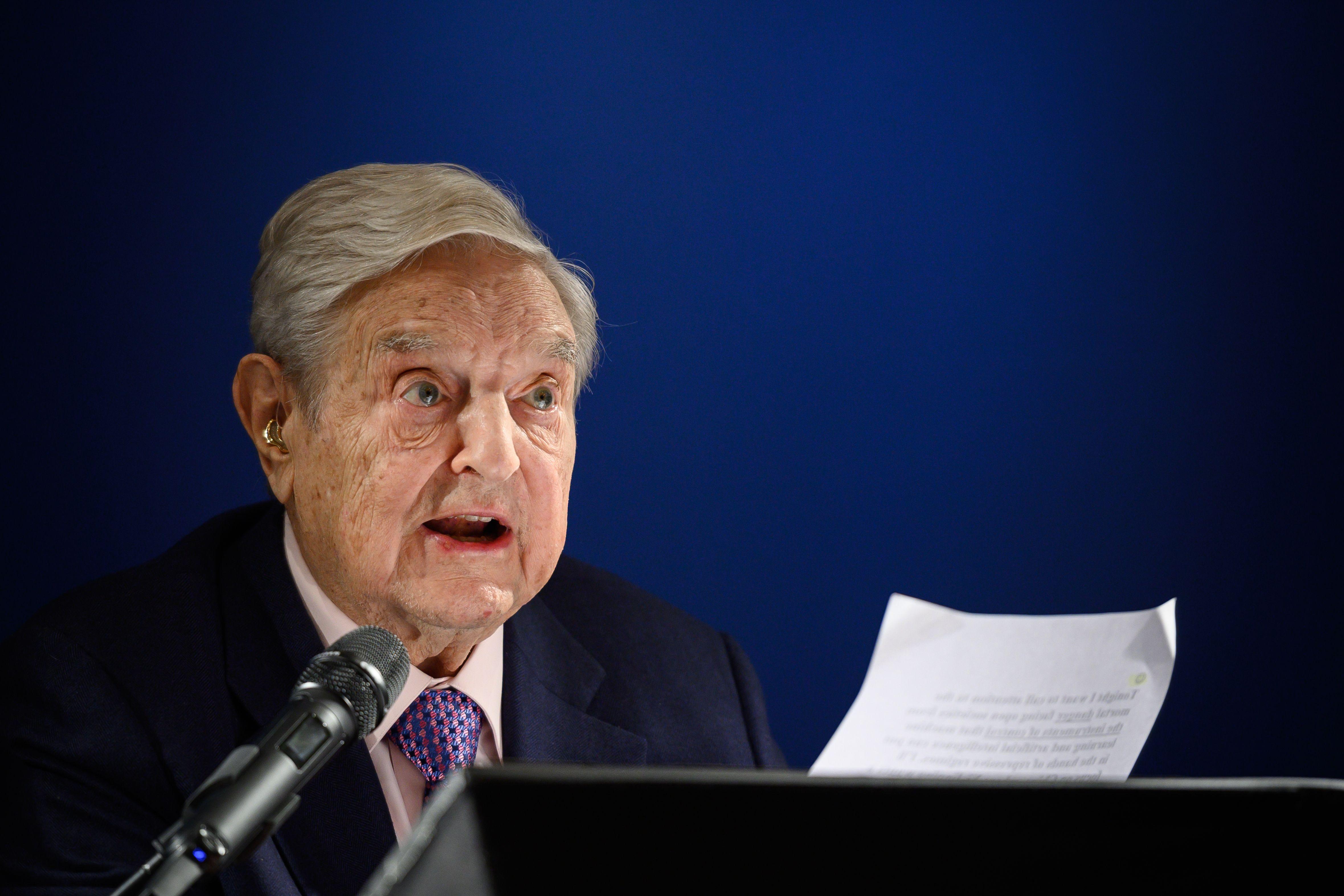 George Soros, el controversial multimillonario, querido y odiado en todo el mundo. (Foto Prensa Libre: AFP)