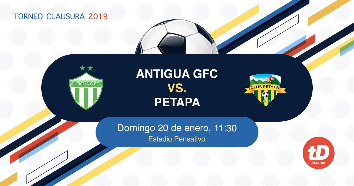Antigua vs Petapa