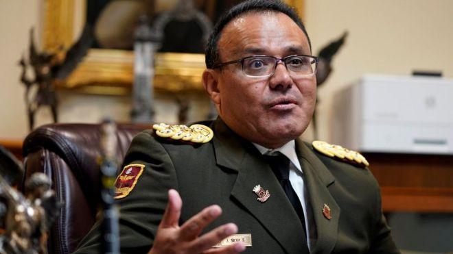 José Luis Silva hizo un llamado para que se lleven a cabo elecciones en Venezuela. REUTERS/JOSHUA ROBERTS