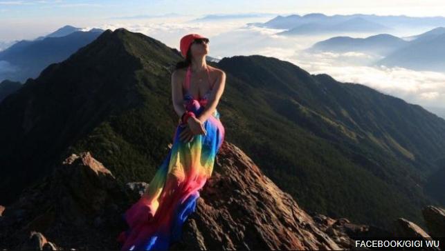 """Muere Gigi Wu, """"la escaladora en bikini"""", tras caer en una grieta en una montaña en Taiwán"""