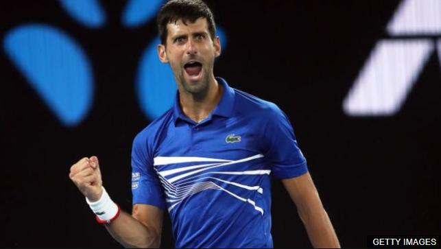 Djokovic ha ganado sus últimos tres Grand Slams de forma consecutiva. GETTY IMAGES