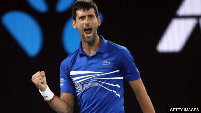 Djokovic ha ganado sus últimos tres Grand Slams de forma consecutiva. GETTY IMAGES