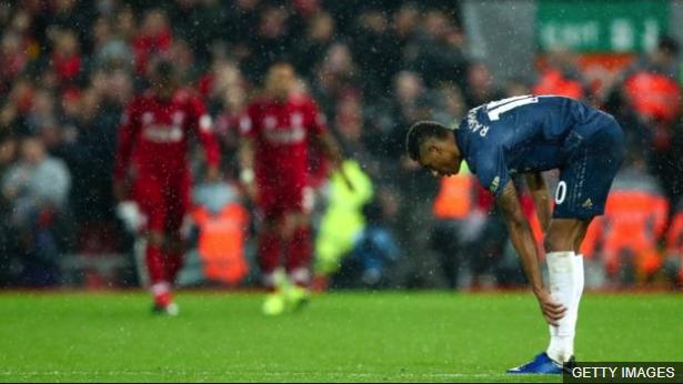 Derrota frente al Liverpool