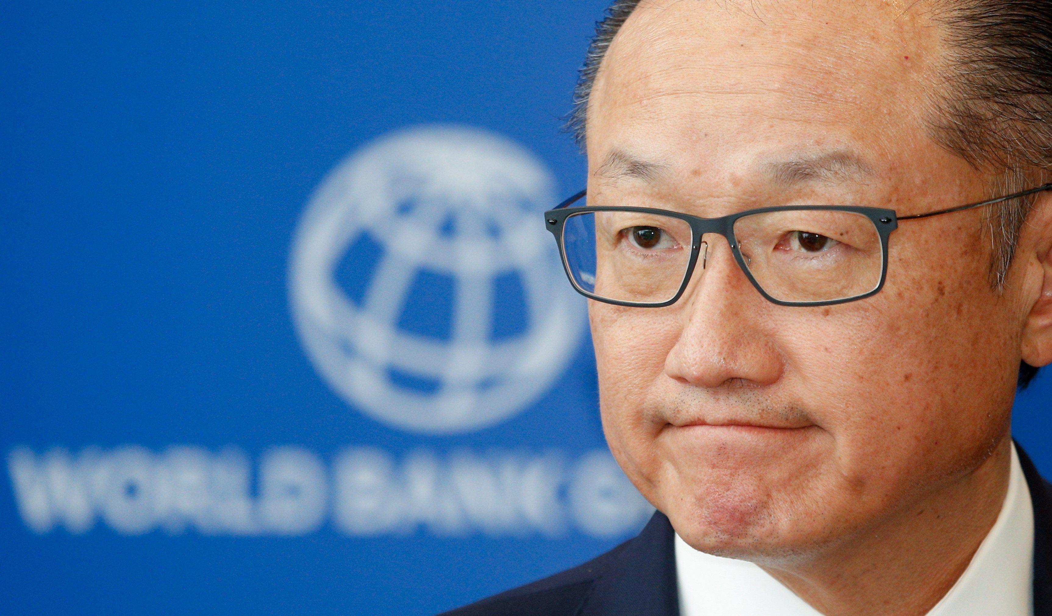 El presidente del Banco MundialJim Yong Kim renunció al cargo la semana pasada. Se informó que la economista y política búlgara Kristalina Georgieva lo sustituirá de forma interina. (Foto, Prensa Libre: Efe).