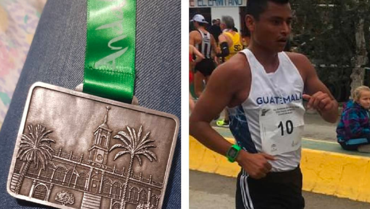 Érick Barrondo ganó la medalla de plata en Andalucía. (Foto Prensa Libre: Instagram Érick Barrondo)
