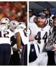 Los Patriotas de Nueva Inglaterra y Los Ángeles Rams jugarán el Super Bowl. (Foto Prensa Libre: EFE Y AFP)