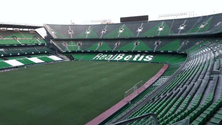 El estadio Benito Villamarín en Sevilla será la sede de la final de la Copa del Rey. (Foto Prensa Libre: Hemeroteca PL)