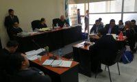 El Tribunal Décimo Tercero Penal, integrado por Edna Maxia, Jaime González y Juan Aceituno, decretaron el abandono de la Cicig. (Foto Prensa Libre: Kenneth Monzón)