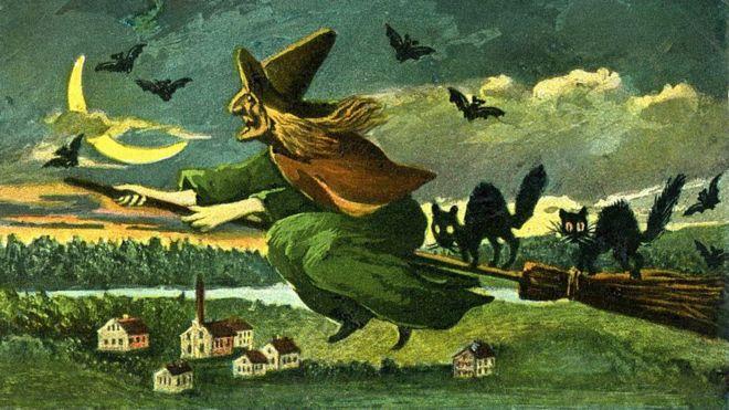 """En lugar de estar """"poseídas"""", hay varias teorías científicas que dicen que las """"brujas"""" de Salem estaban enfermas. (GETTY IMAGES)"""